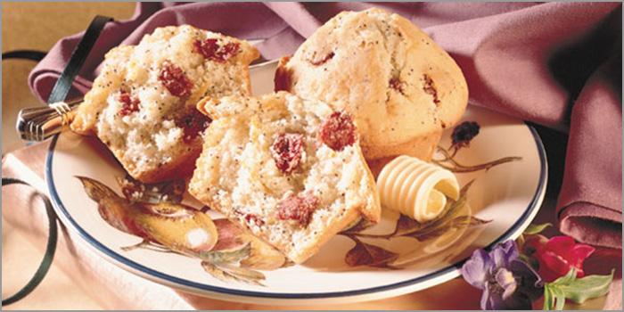 Montmorency-Mohn-Muffins