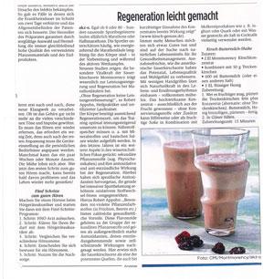 Montmorency Sauerkirschen in der Presse