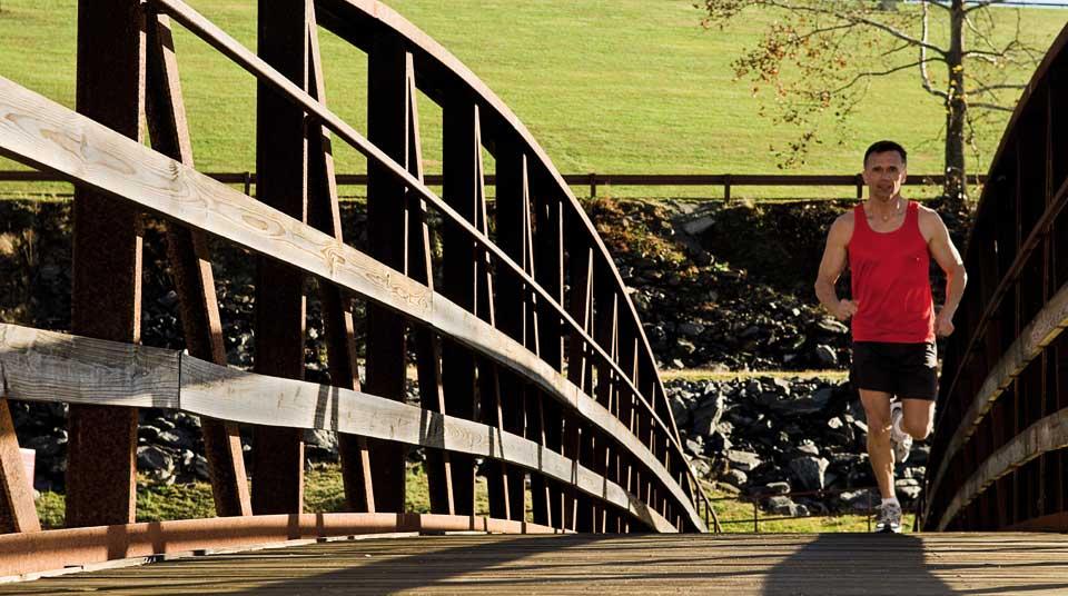 Entspannte Muskeln - auch nach Marathonläufen