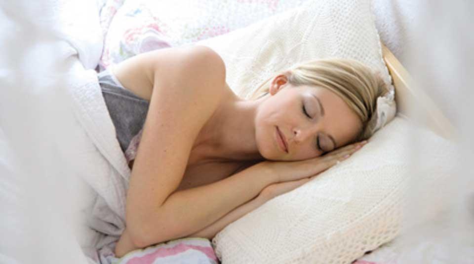 Hoher Melatonin Gehalt sorgt für tiefen Schlaf.