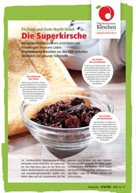 Fit-Food und Gute Nacht-Snack