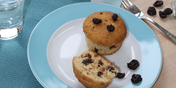 Montmorency Mandel Muffins