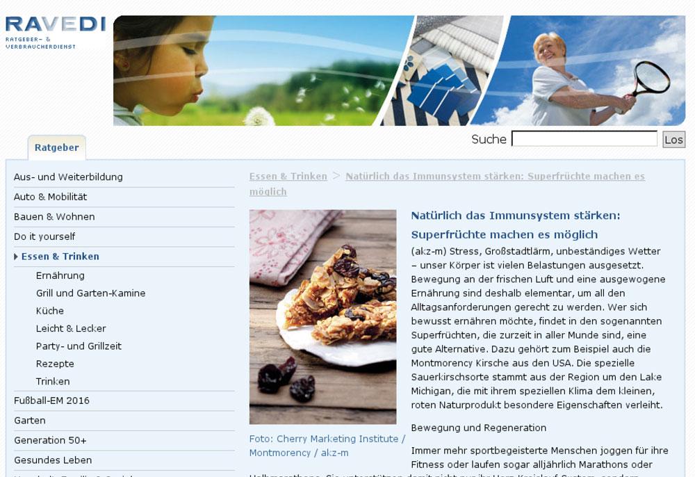 Ravedi.de - Natürlich das Immunsystem stärken